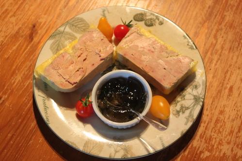 Le foie gras de canard fermier.