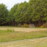 Espace foot dans la prairie face à la superbe vue de la vallée.