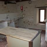 Création des cuisines, une pensée à notre plombier Romain