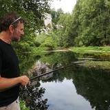Un belle rivière pour une journée de pêche.