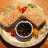 Notre foie gras maison fermier.