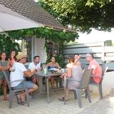 Nos belges de retour... un bon moment avec les vacanciers des gites.