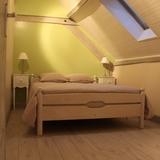 Chambre 1 avec un lit de 140cm