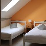 Chambre 2 avec deux lit de 90 cm