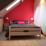 Chambre 1 avec lit de 140cm