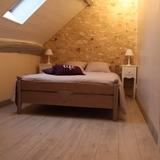 Chambre 1 avec 1 lit de 140cm