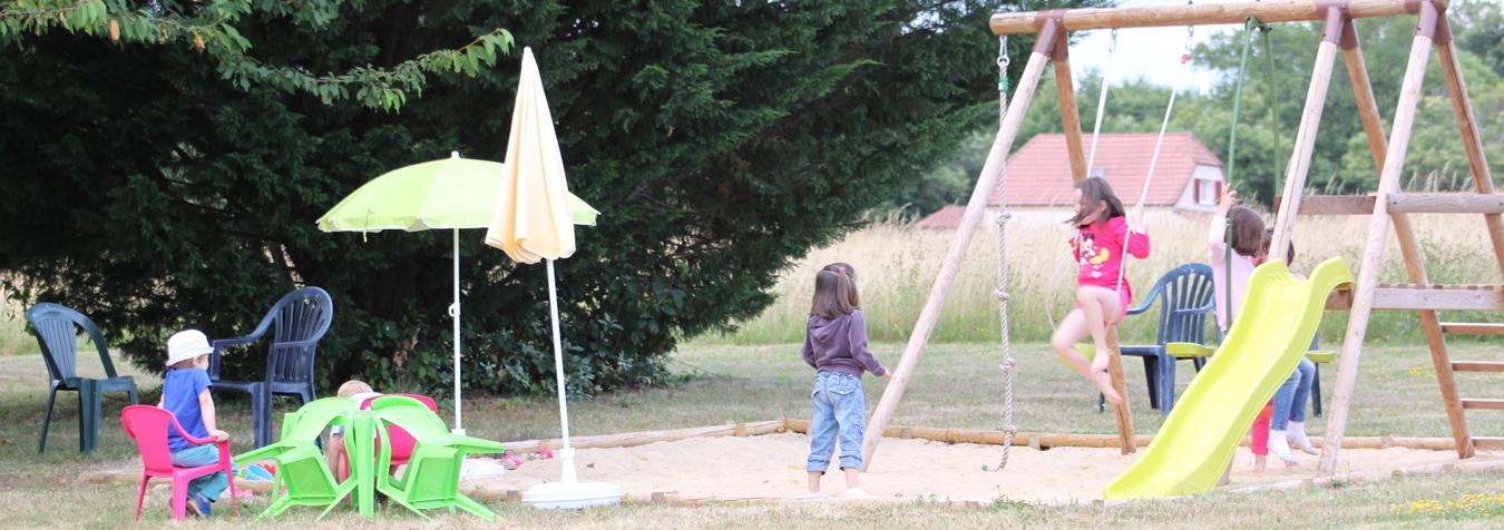 Activité Aire de jeux pour les enfants